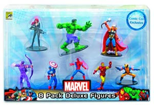 Marvel SDCC 2012 4-Inch 8-Piece Figurine Set
