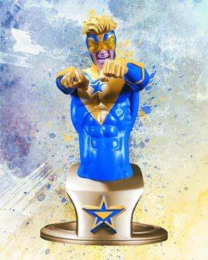 DC Comics Super-Heroes Booster Gold Bust
