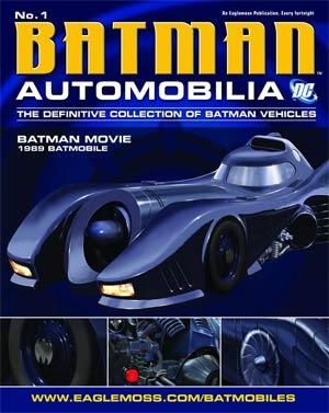 DC Batman Automobilia Collection Magazine #1 1989 Batman Movie