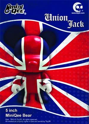 Union Jack Bear 5-Inch Mini Qee