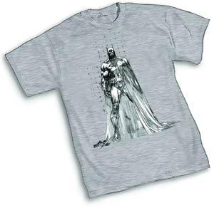 Batman Raw II By Jim Lee T-Shirt Large