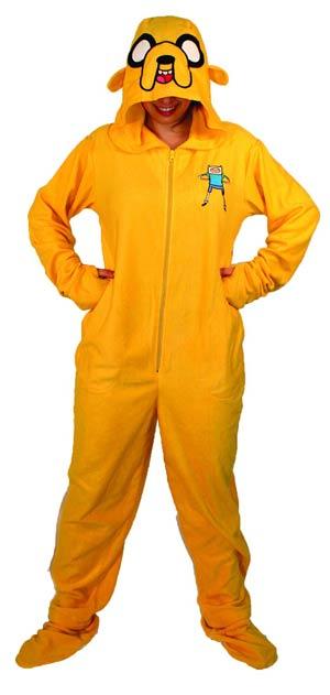 Adventure Time Jake 1-Piece Pajama Medium
