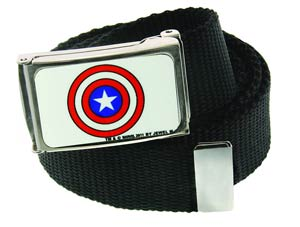 Marvel Heroes Web Belt - Captain America Shield