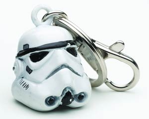 Star Wars Helmet Keychain - Storm Trooper