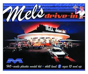 Mels Drive-In Plastic Model Kit