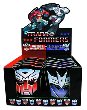 DO NOT USE (DNO) Tranformers Candy Tin 12-Count Display