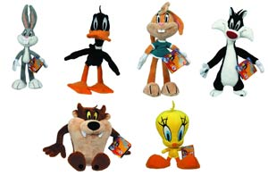 Looney Tunes 8-Inch Small Plush 12-Piece Assortment Case