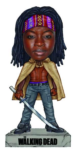 Walking Dead Michonne Wacky Wobbler