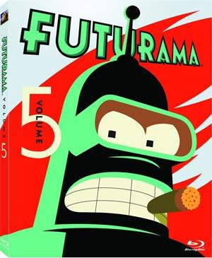 Futurama Vol 5 Blu-ray DVD