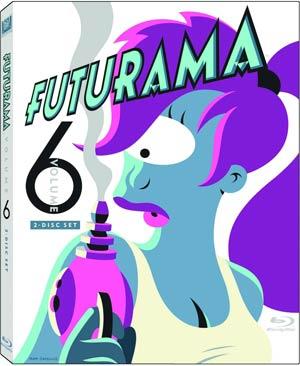 Futurama Vol 6 Blu-ray DVD