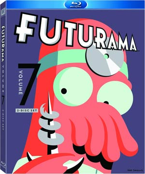 Futurama Vol 7 Blu-ray DVD