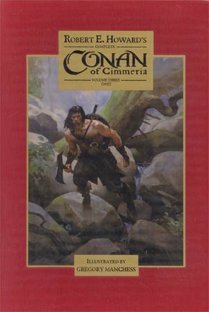 Conan Of Cimmeria Vol 3 Limited Deluxe HC