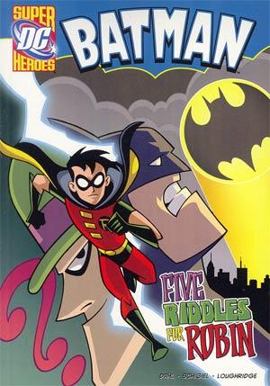 DC Super Heroes Batman Five Riddles For Robin Young Readers Novel TP