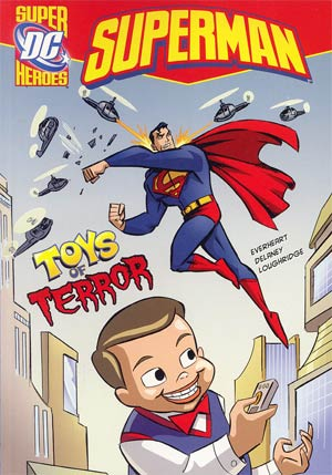 DC Super Heroes Superman Toys Of Terror Young Readers Novel TP
