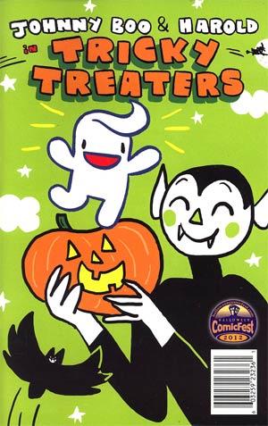 Halloween ComicFest 2012 Top Shelf Johnny Boo And Harold Tricky Treaters Mini Comic