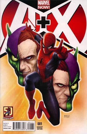 A Plus X #1 Cover C Variant Amazing Spider-Man 50th Anniversary Cover
