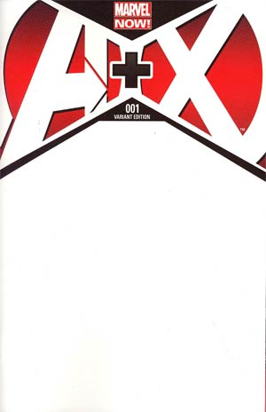 A Plus X #1 Cover B Variant Blank Cover