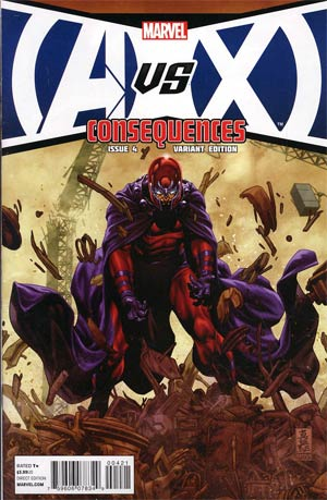 AVX Consequences #4 Cover B Incentive Mark Brooks Variant Cover