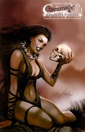 Charismagic Death Princess #1 Cover C Incentive Siya Oum