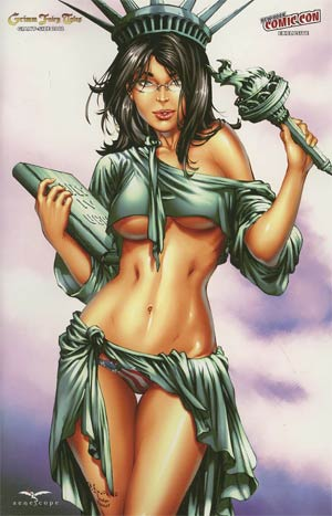 Giant-Size Grimm Fairy Tales 2012 NYCC Exclusive E-Bas Variant Cover