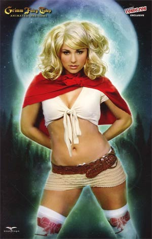 Grimm Fairy Tales Animated One Shot NYCC Exclusive Briana Evigan Photo Variant Cover