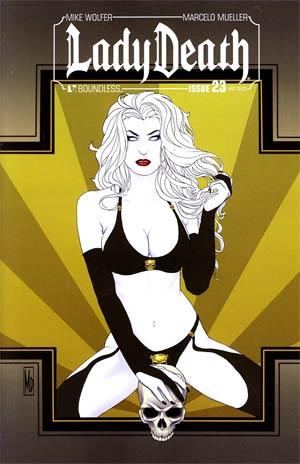 Lady Death Vol 3 #23 Incentive Art Deco Variant Cover
