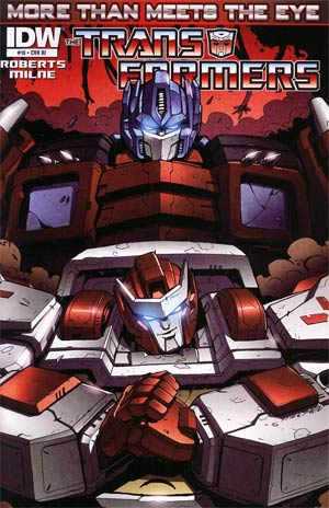 Transformers More Than Meets The Eye #10 Incentive Marcelo Matere Variant Cover