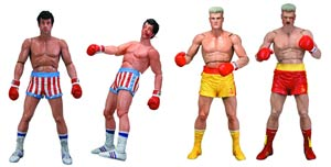 Rocky Series 2 Rocky IV Fight Damage 7-Inch Action Figure