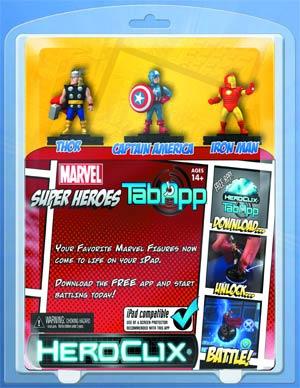 Marvel HeroClix Marvel Superheroes TabApp Pack