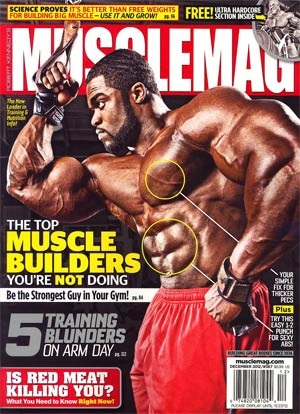Muscle Mag #367 Dec 2012