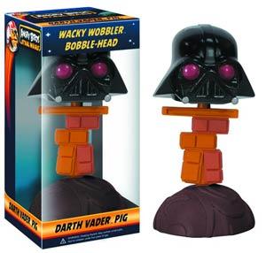 Angry Birds Star Wars Darth Vader Piggy Wacky Wobbler