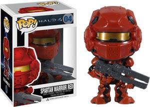 POP Halo 4 04 Spartan Warrior Red Vinyl Figure