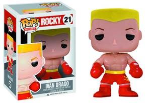 POP Movies 21 Rocky Ivan Drago Vinyl Figure