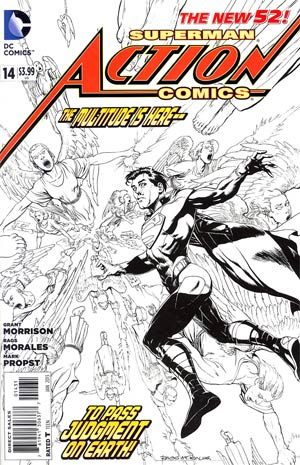 Action Comics Vol 2 #14 Cover E Incentive Rags Morales Sketch Cover