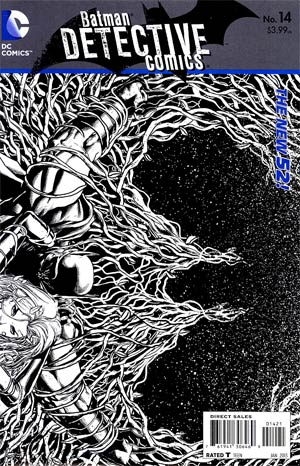 Detective Comics Vol 2 #14 Incentive Jason Fabok Sketch Cover