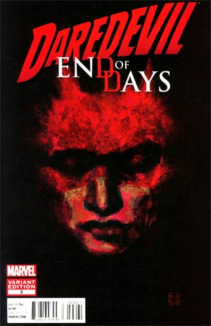 Daredevil End Of Days #2 Incentive David Mack Variant Cover