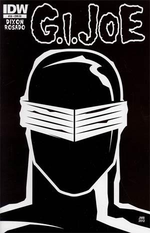 GI Joe Vol 5 #19 Incentive James Biggie Rock Poster Variant Cover