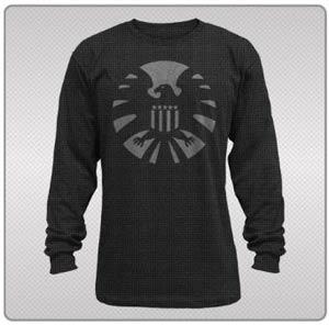 SHIELD Night Shield Black Thermal Long Sleeve Large