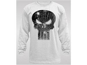 Punisher Broken Face Thermal Long Sleeve Large
