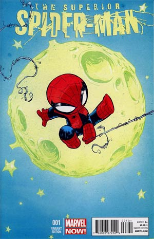 Superior Spider-Man #1 Cover C Variant Skottie Young Baby Cover