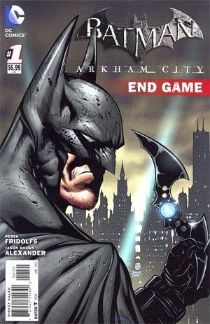 Batman Arkham City End Game  #1 Cover B Incentive Patrick Gleason Variant Cover