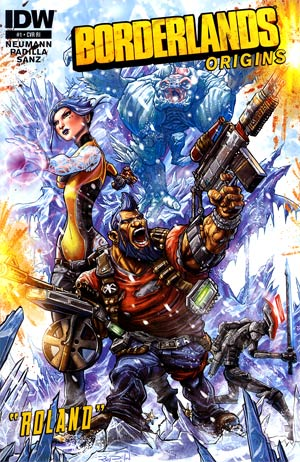 Borderlands Origins #1 Incentive Ray Dillon Variant Cover