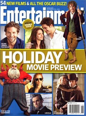 Entertainment Weekly #1232 / #1233 Nov 9 / Nov 16 2012
