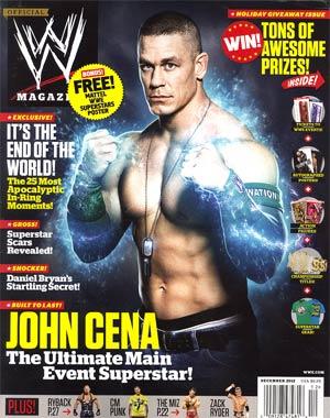 WWE Magazine #83 Dec 2012