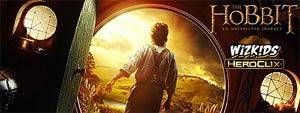 Hobbit An Unexpected Journey HeroClix 24-Figure Counter Display