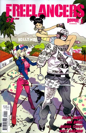 Freelancers #1 1st Ptg Regular Cover B Felipe Smith