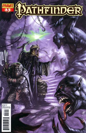 Pathfinder #3 Regular Lucio Parrillo Cover