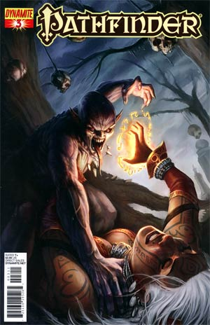 Pathfinder #3 Regular Tyler Walpole Cover