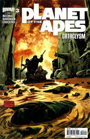 Planet Of The Apes Cataclysm #3 Regular Cover B Gabriel Hardman