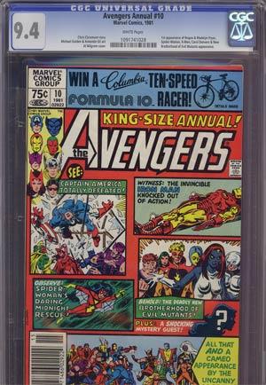 Avengers Annual #10 CGC 9.4